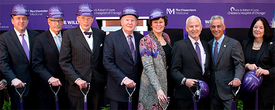 New Biomedical Research Center Groundbreaking