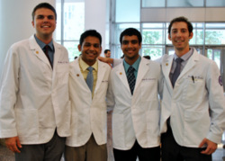 Third Year Medical Students Receive New White Coats