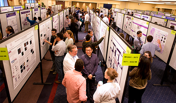 Showcasing Science at Research Day