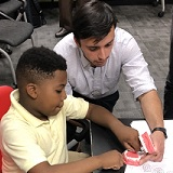 PA Students Teach About Smiles With NCCPA Oral Health Outreach Grant