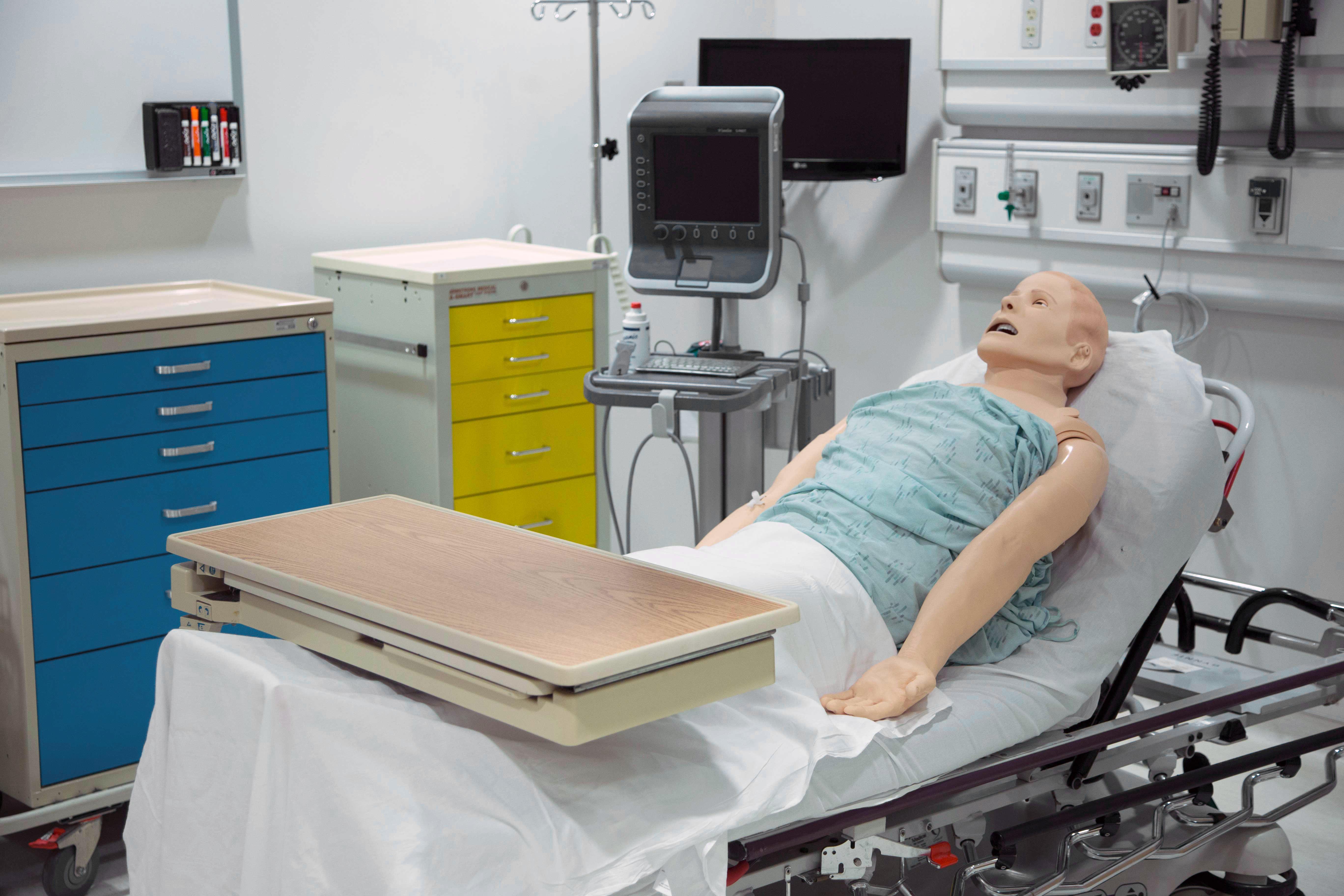Clinical Simulation Space Northwestern Simulation